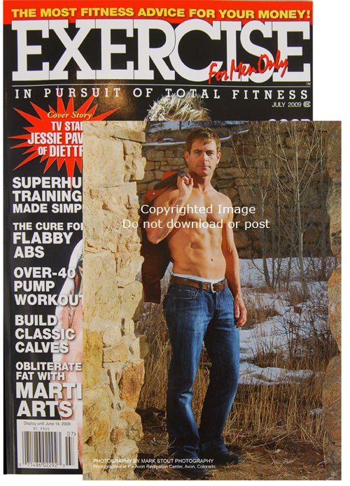 Paul Karr featured in the June 2009 Exercise for Men