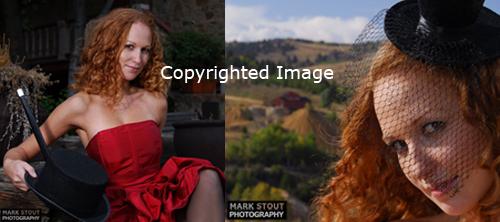 Female Fashion Photoshoot - copyright Mark Stout Photography