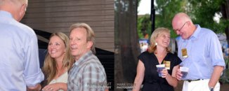 Left: Dewey Bunnell with Daughter Loren, Right: Michael Beckley with his wife