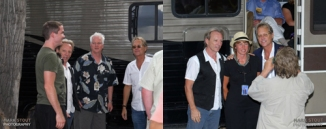 Backstage with Dewey Bunnell and Gerry Beckley