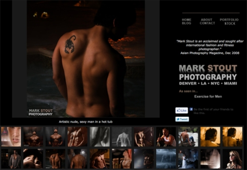 The artistic and sensual gallery which features implied nudes and work more ...