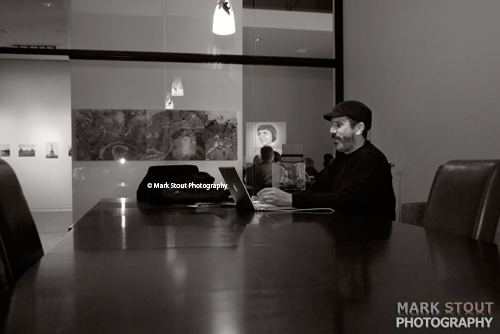 Portrait of Mark Sink