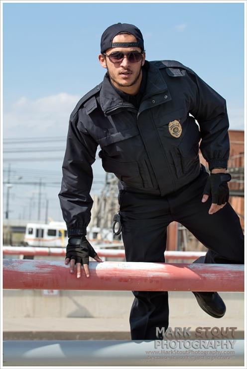 Uniform photoshoot, copyright Mark Stout