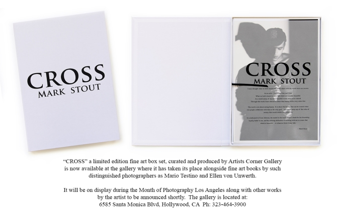 "Official release of the fine art box set ""CROSS"""